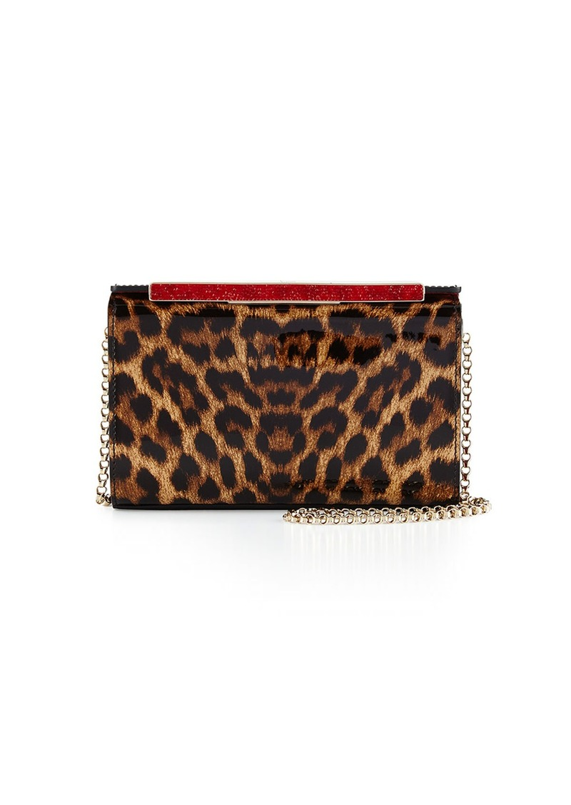 a9112ec2742b Christian Louboutin Christian Louboutin Vanite Small Leopard-Print ...