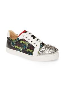 Christian Louboutin Vieira Spike Print Low Top Sneaker (Women) (Nordstrom Exclusive)
