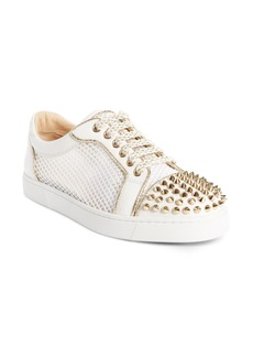 Christian Louboutin Vieira Spiked Low Top Sneaker (Women)