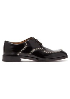 Christian Louboutin What A Man studded leather brogues