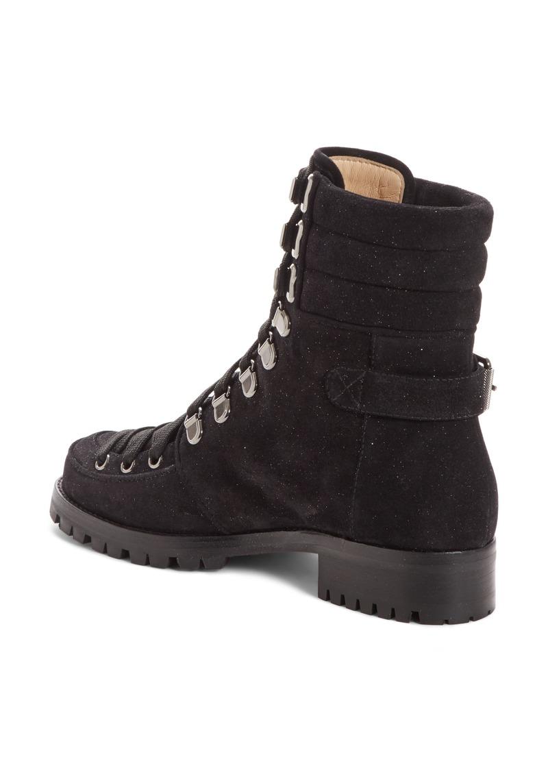 sports shoes 8f5ef fda30 Christian Louboutin Christian Louboutin Who Runs Combat Boot (Women) | Shoes