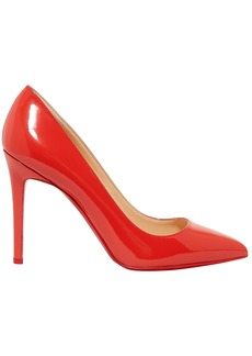 Christian Louboutin Woman Pigalle 100 Patent-leather Pumps Tomato Red
