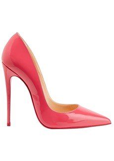 Christian Louboutin Woman So Kate 120 Patent-leather Pumps Fuchsia
