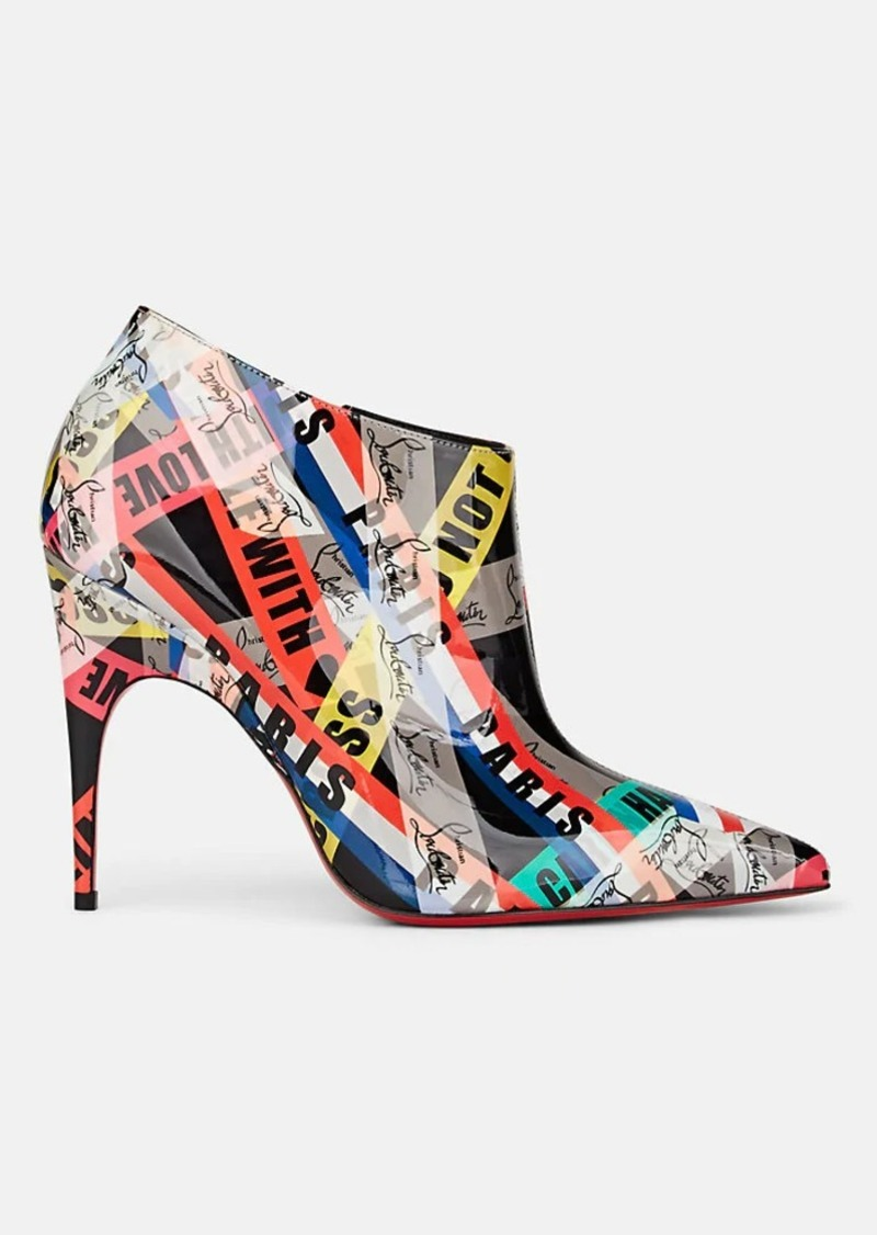 Christian Louboutin Women's Gorgona Patent Leather Ankle Boots