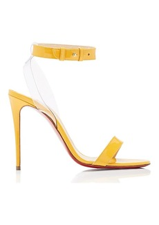 e56d5b1c49cf Christian Louboutin Women s Jonatina Patent Leather   PVC Sandals