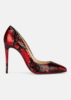 Christian Louboutin Women's Pigalle Follies Snakeskin Pumps
