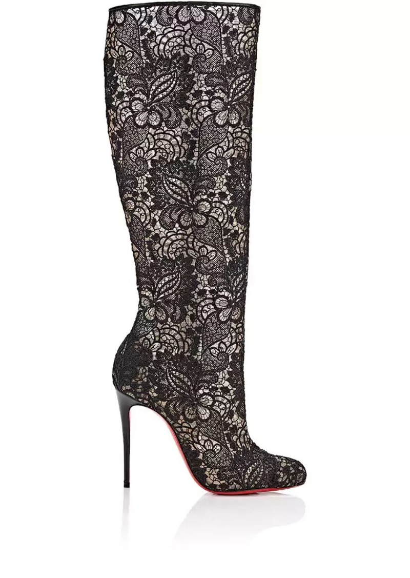 check out fb2ac 3160e Women's Tennissina Lace Knee Boots