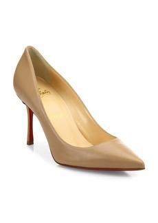 Christian Louboutin Decoltish Leather Point Toe Pumps
