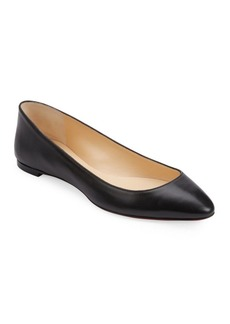 save off a4fc3 08050 Eloise Nappa Leather Flats