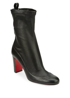 Christian Louboutin Gena Leather Booties