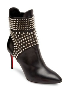 Christian Louboutin Hongriose Studded Leather Booties