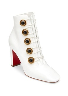 Christian Louboutin Lady See Leather Booties