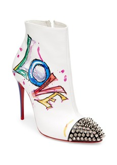 Christian Louboutin Love Is A Boot Leather Booties