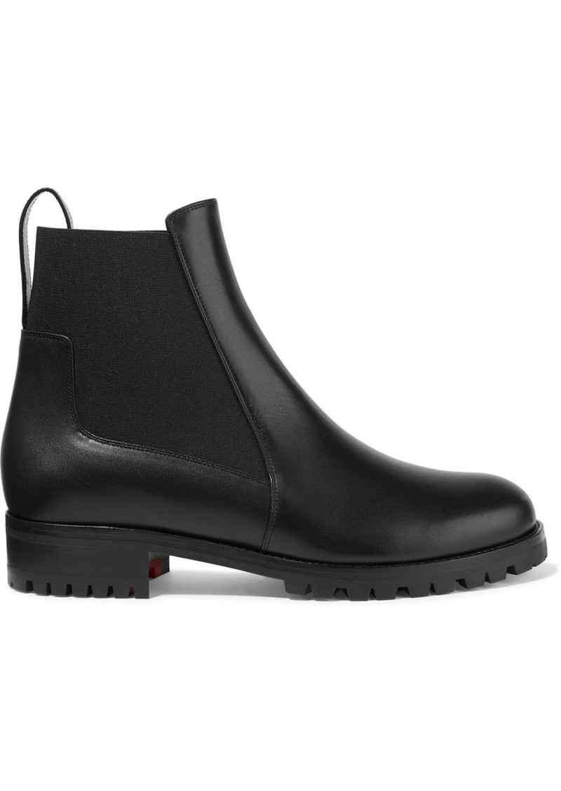 Machcroche Leather Chelsea Boots
