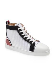 Men's Christian Louboutin Fun Louis High Top Sneaker