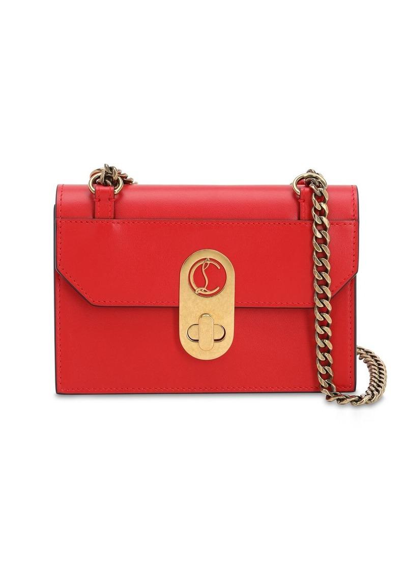 Christian Louboutin Mini Elisa Leather Shoulder Bag