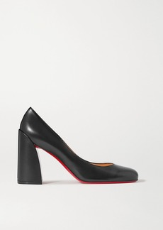 Christian Louboutin Miss Sab 85 Leather Pumps