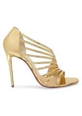 Christian Louboutin Norina Metallic Leather Sandals
