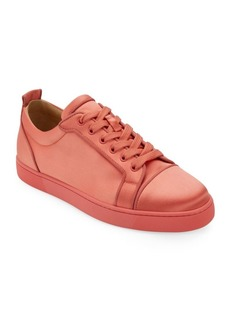 Christian Louboutin Orlato Silk Sneakers