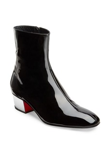 Christian Louboutin Palace High Gloss Leather Booties