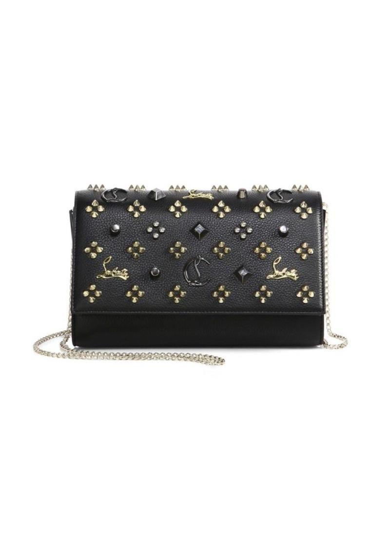 19f8768df9 Christian Louboutin Paloma Convertible Studded Leather Clutch | Handbags