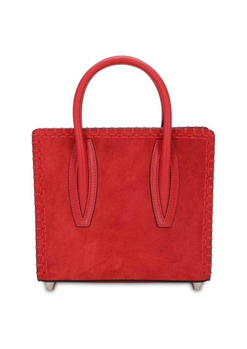 Christian Louboutin Paloma Mini Suede & Leather Bag