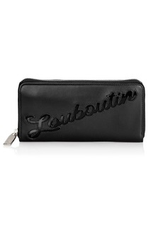 Christian Louboutin Panettone Logo Leather Wallet