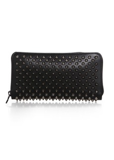 Christian Louboutin Panettone Spiked Zip-Around Wallet