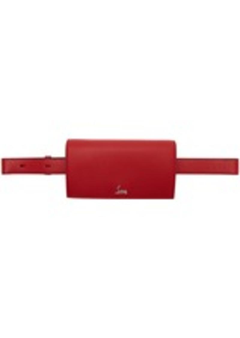 Christian Louboutin Red Boudoir Chain Belt Bag