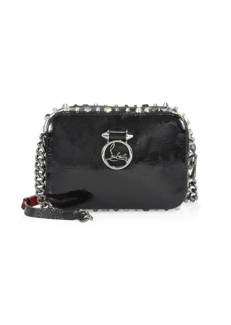 8cc2ee08619 Rubylou Vintage Trashmix Patent Leather Mini Crossbody Bag
