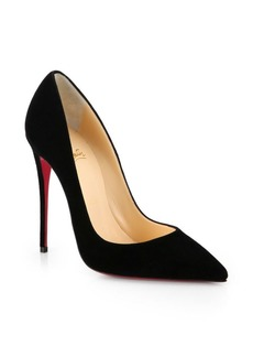 Christian Louboutin So Kate 120 Suede Point Toe Pumps