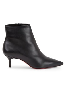 buy online 285b8 60efe Christian Louboutin So Kate Booty Leather Ankle Boots
