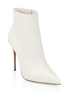 Christian Louboutin So Kate 100 Leather Booties