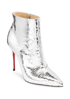 Christian Louboutin So Kate Mirrored Leather Booties