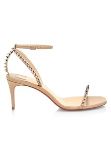 Christian Louboutin So Me Spike Leather Sandals