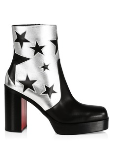 Christian Louboutin Stage Leather Platform Starboots