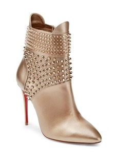 Christian Louboutin Studded Leather Booties