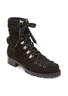 Christian Louboutin Who Runs Suede Boots
