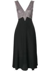 Christopher Kane crystal embellished midi dress