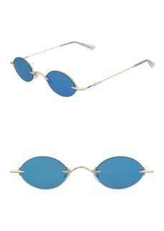 Christopher Kane 43mm Oval Sunglasses