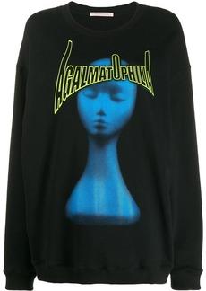 Christopher Kane Agalmatophilia print sweatshirt