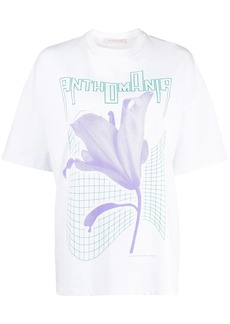 Christopher Kane Anthomania print T-shirt