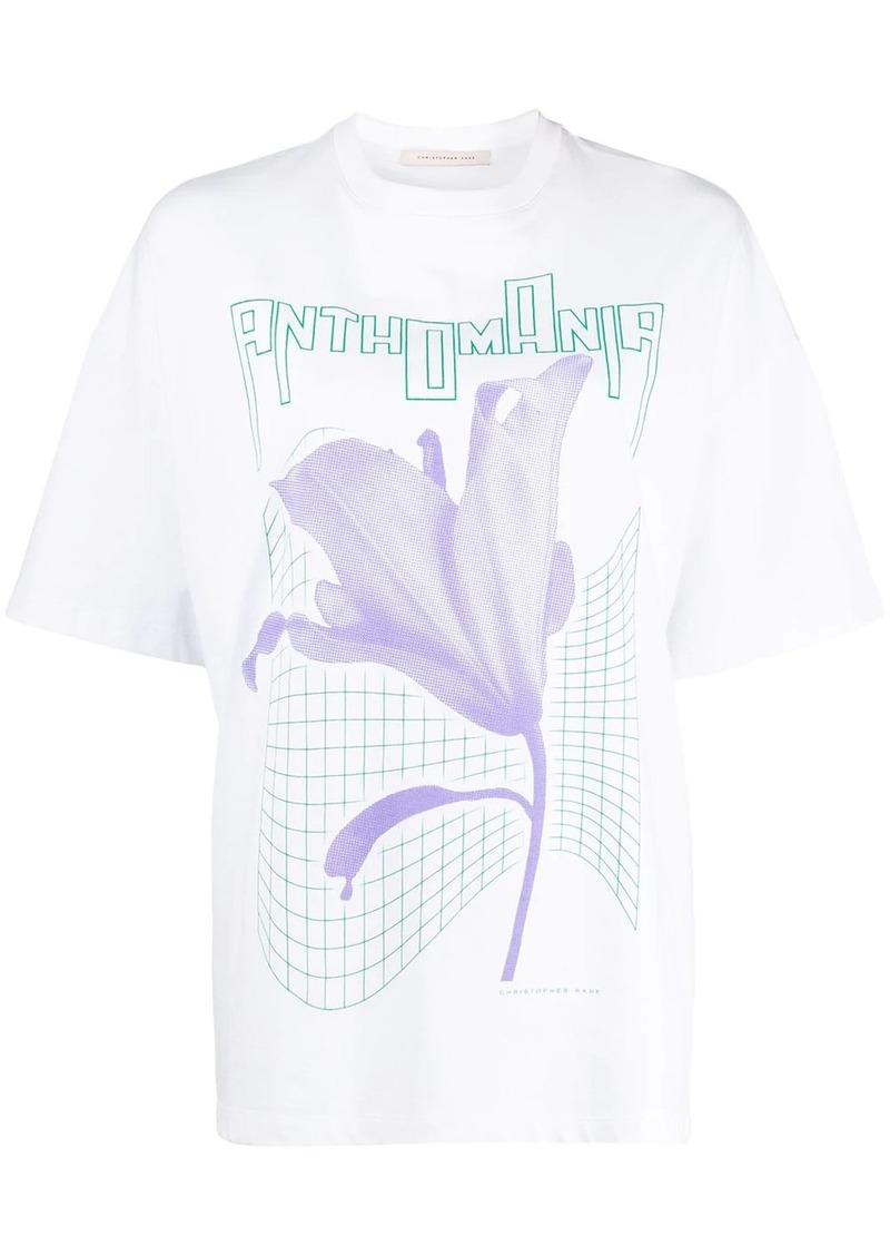 Christopher Kane Anthomania print T-shirt