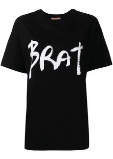 Christopher Kane BRAT printed T-shirt