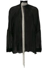 Christopher Kane chain fringe blouse