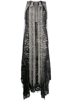 Christopher Kane chain fringed dress