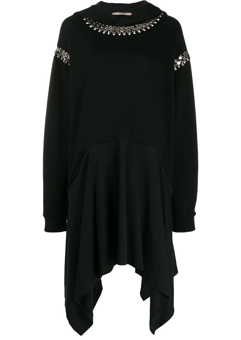 Christopher Kane chain hoody dress