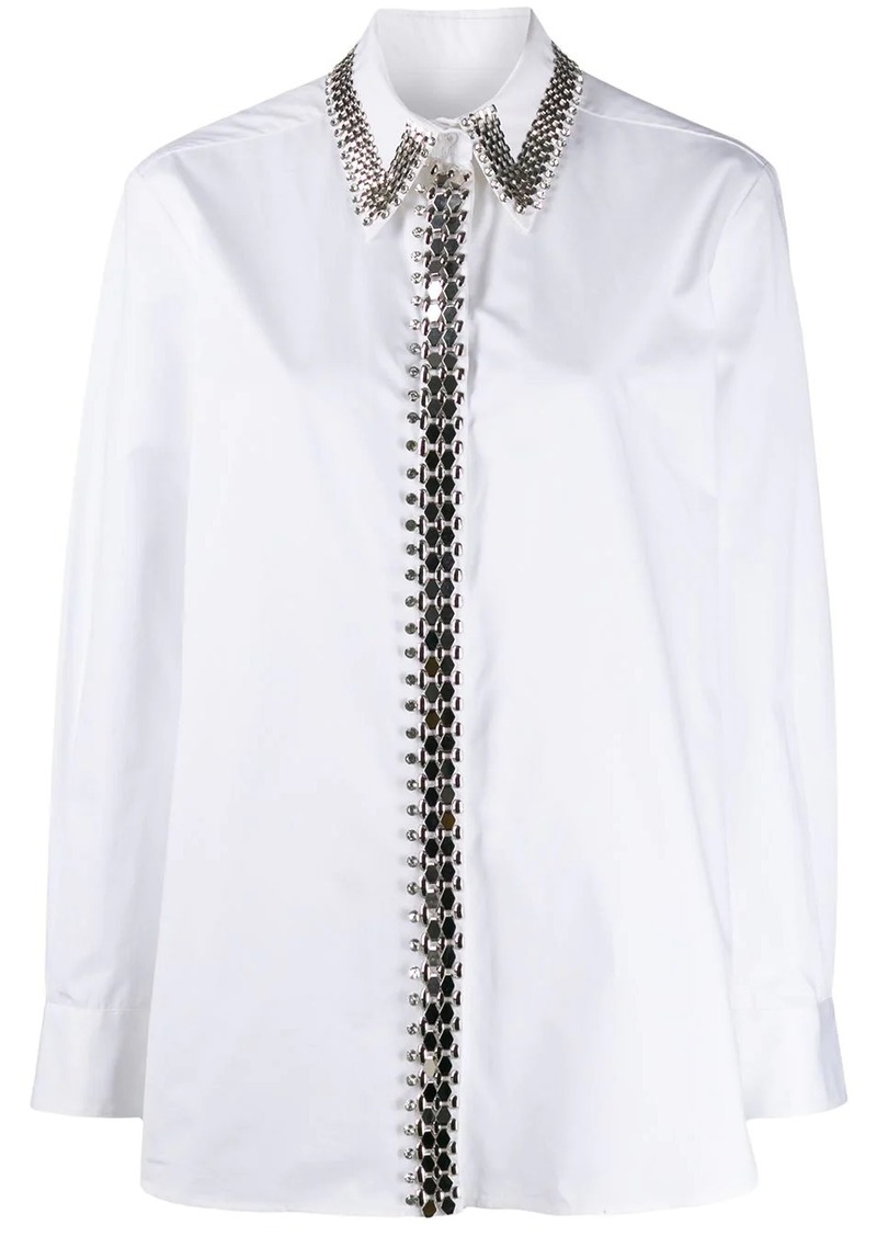 Christopher Kane chain shirt