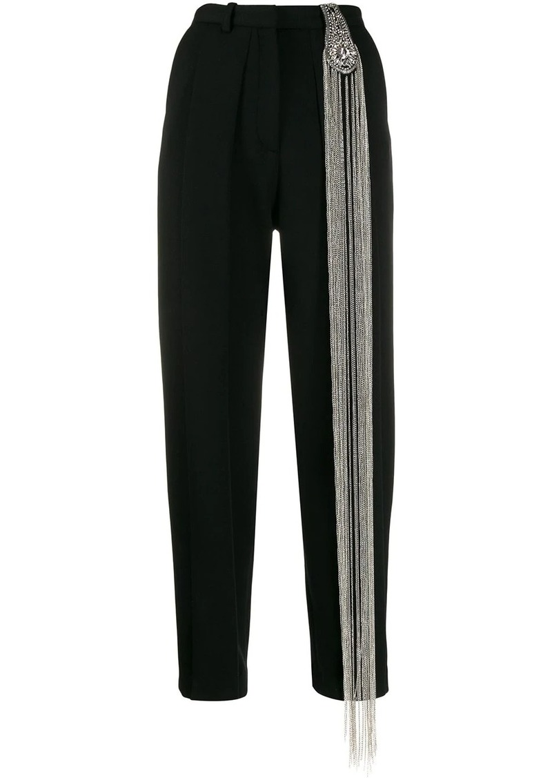 Christopher Kane chain tailored trousers
