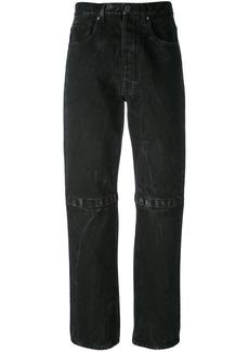 Christopher Kane Boyfriend velcro jeans - Black